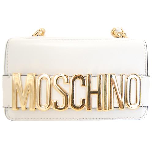 Bianco Moschino Bag