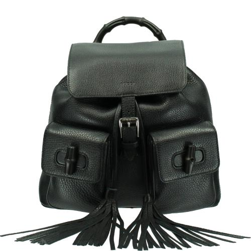 Bamboo Leather Backpack