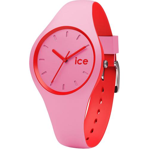 Ceas Unisex ICE Duo pink red,...