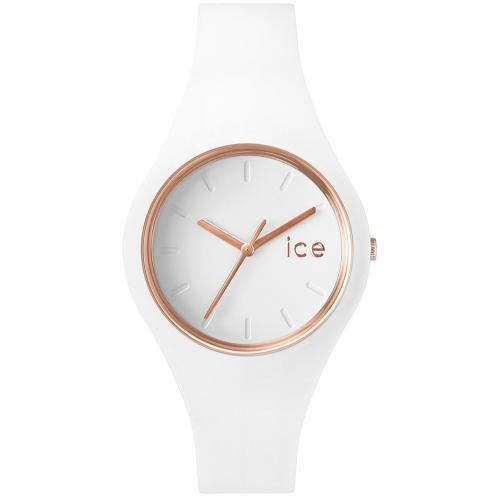 Ceas Unisex ICE Glam white,...
