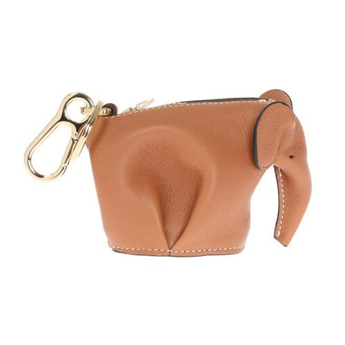 Elephant Leather Charm
