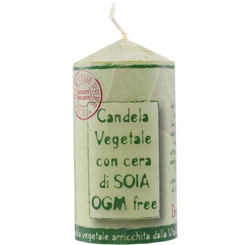 Lumanare parfumata Soia frunze...