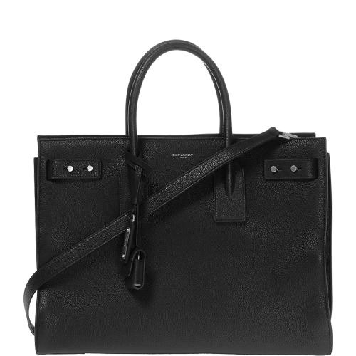 Medium Sac De Jour Souple Black