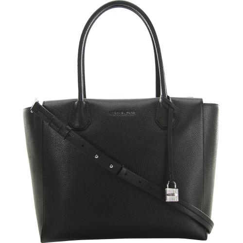 Mercer Large Leather Satchel