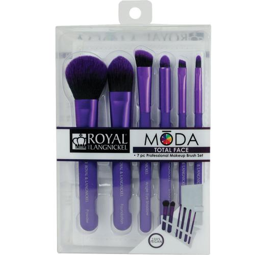 Moda Total Face Set Pensule 7...