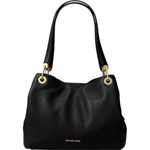 Raven Large Leather Shoulder Bag