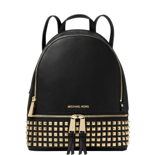 Rhea Medium Studded Leather...