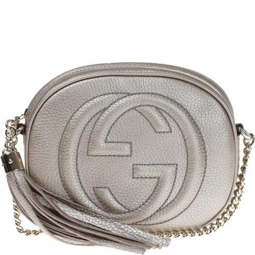 Soho Metallic Leather Mini...