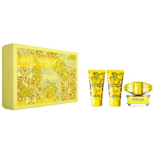 Yellow Diamond Set Femei