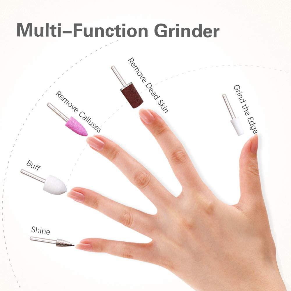 aparat opțional pentru manichiură și pedichiură