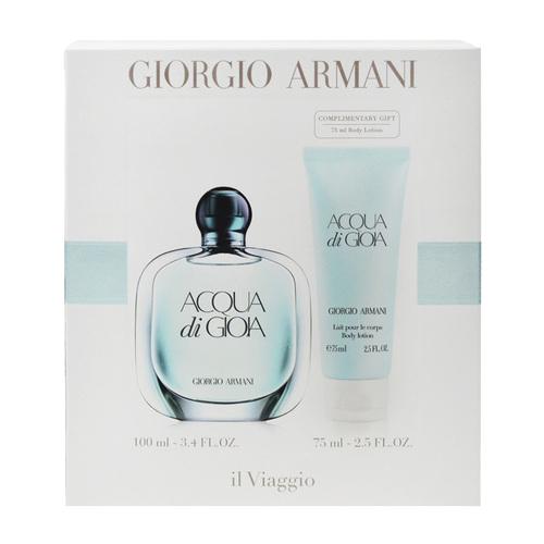 Acqua Di Gioia EDT 100 ml, BL 75 ml Set Femei