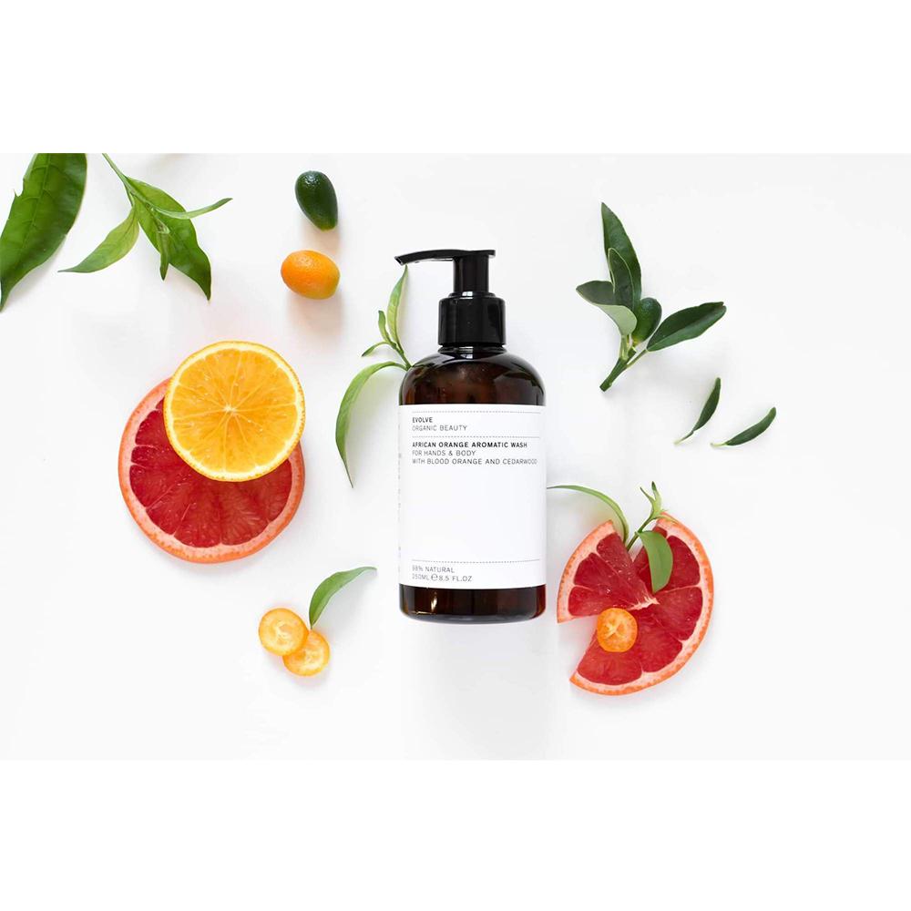 African Orange Gel de dus Aromatic 250 ml