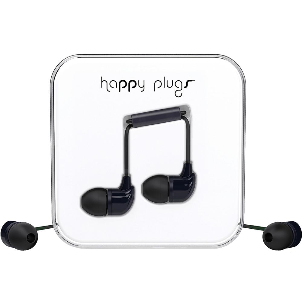 Casti cu fir In Ear cu Microfon Negru