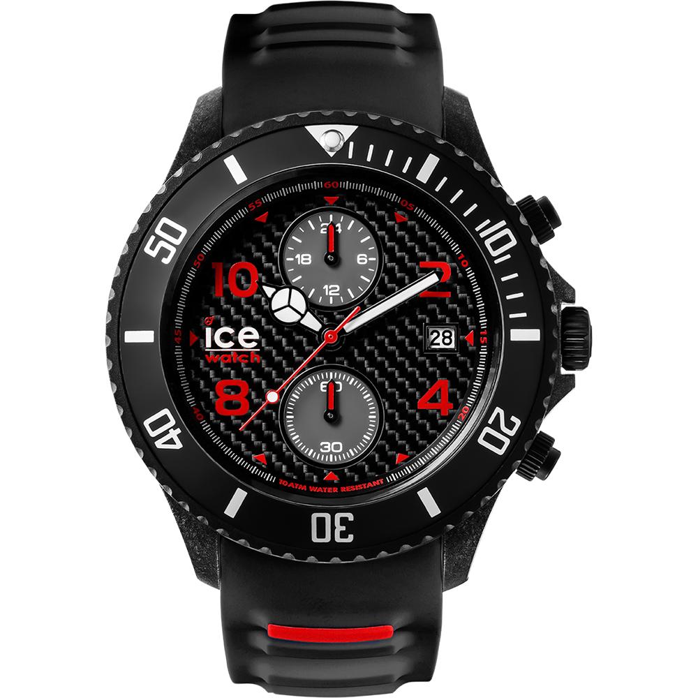 Ceas Barbati ICE Carbon black-white, big-big, chronograph