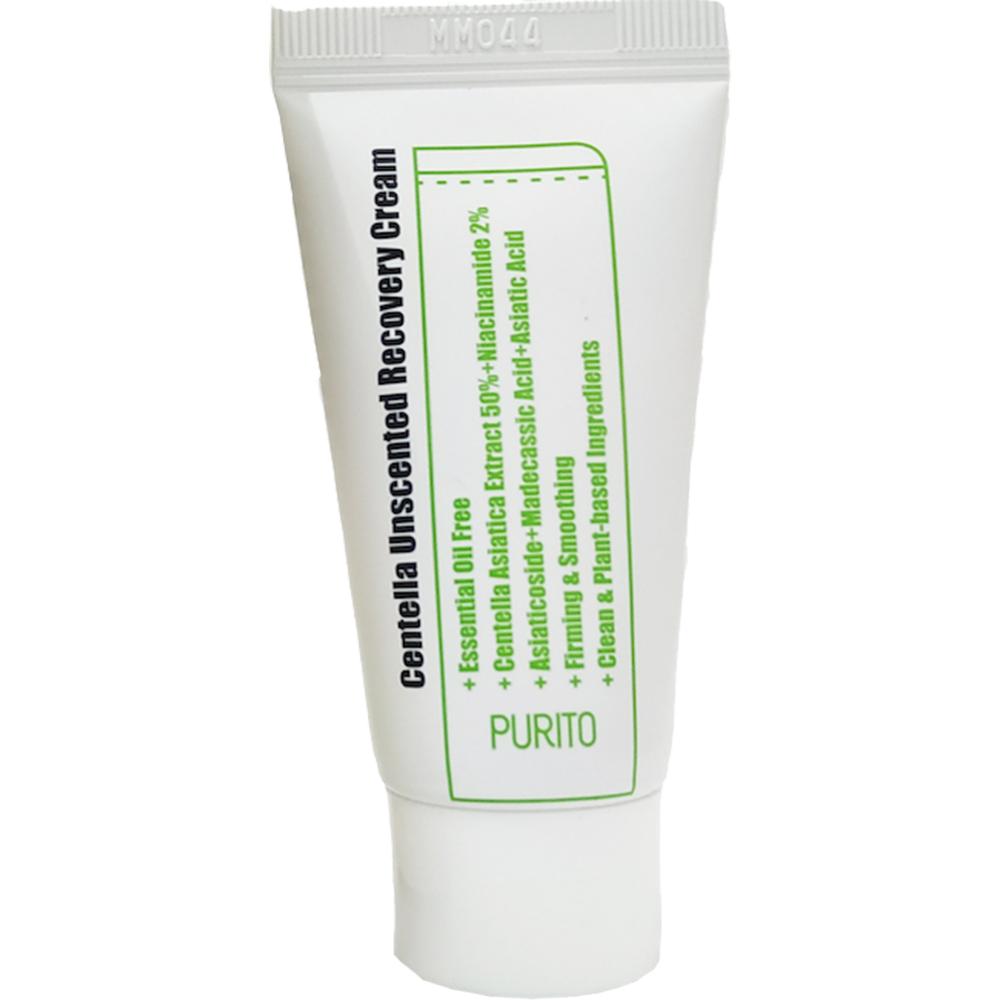 Centella Crema de fata fara parfum pentru regenerare Mini 12 ml