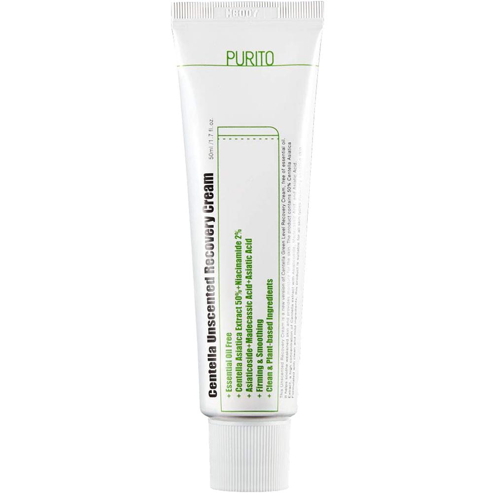 Centella Crema de fata fara parfum pentru regenerare 50 ml