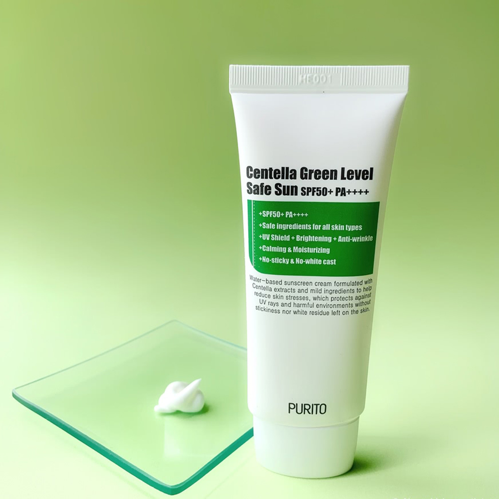 Centella Green Level Safe Sun Crema de fata cu protectie solara SPF 50 60 ml