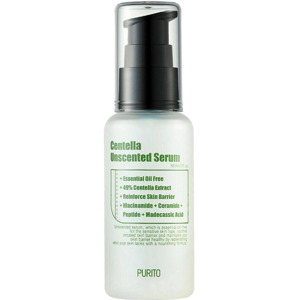 Centella Unscented Serum Ser de fata fara parfum 60 ml