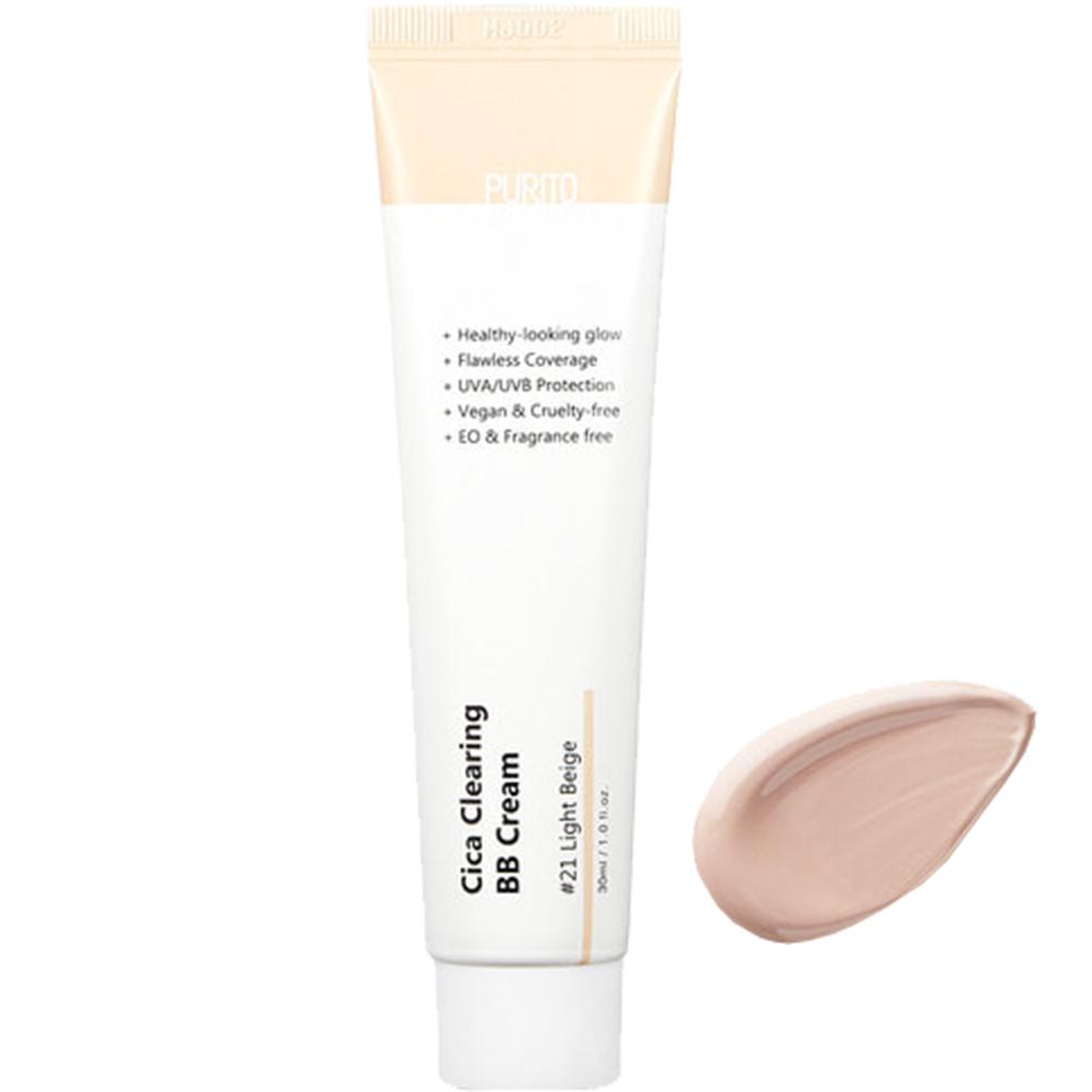 Cica Clearing Crema Coloranta de fata BB Cream 21 Light Beige 30 ml