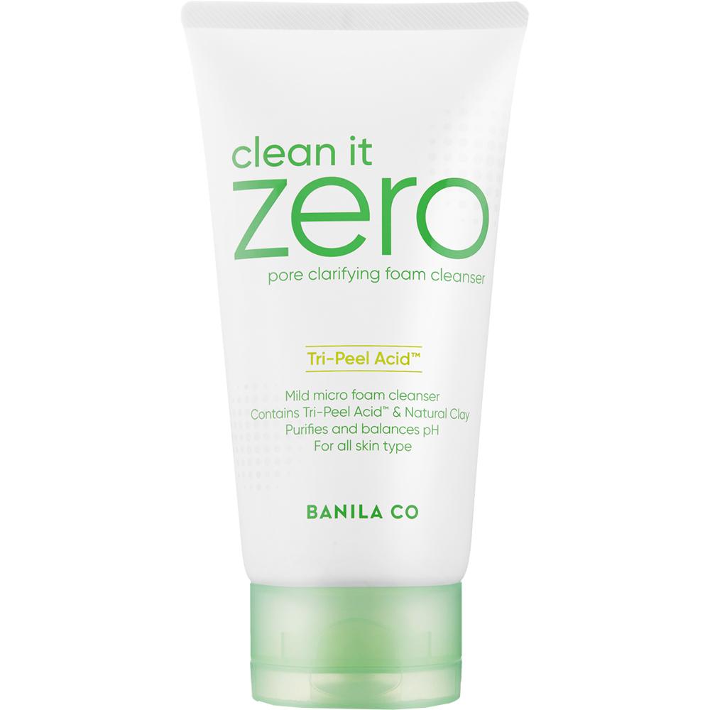 Clean it Zero Spuma de curatare pentru pori dilatati 150 ml