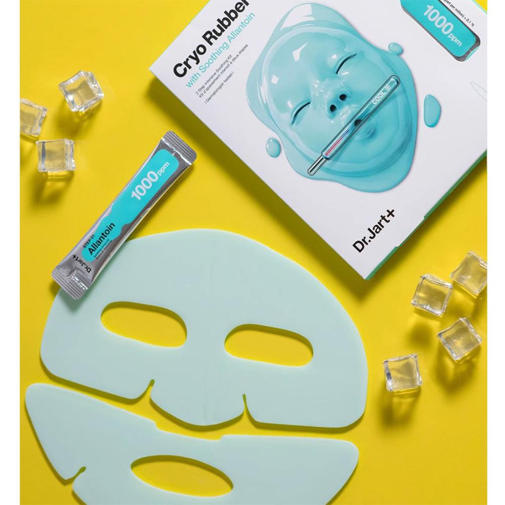 Cryo Rubber Masca de fata cu Alantoina pentru netezire 4 gr x 40 gr