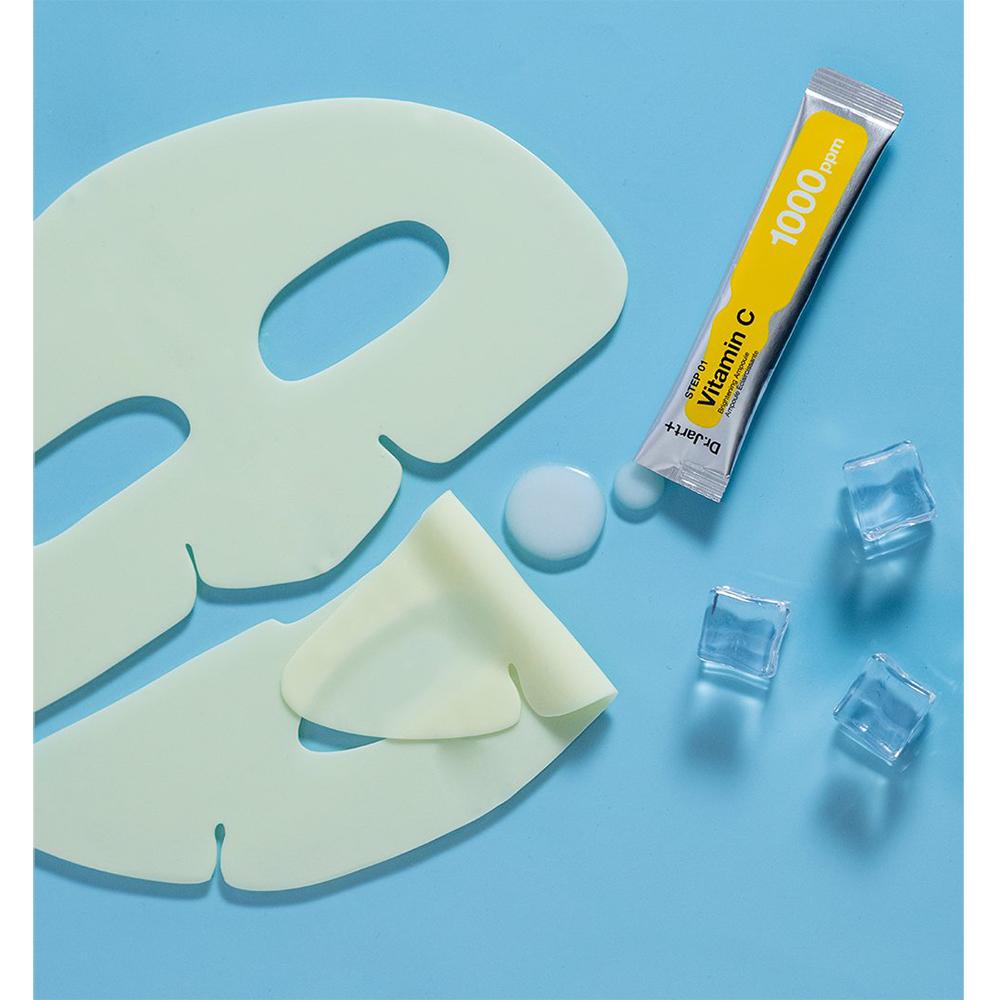 Cryo Rubber Masca de fata cu Vitamina C pentru stralucire 4 gr x 40 gr