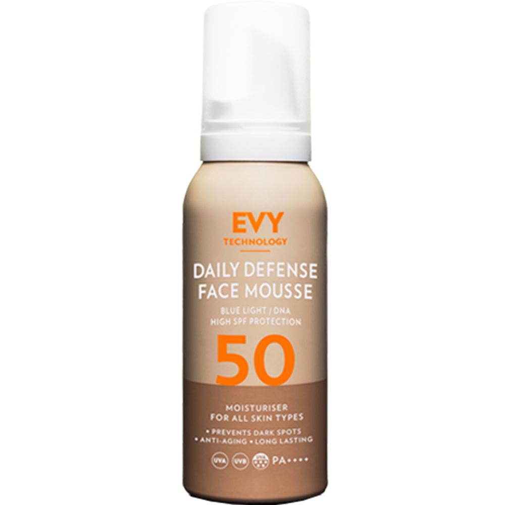 Daily Defence Face Mousse Crema de fata spuma cu SPF 50 Unisex 75 ml