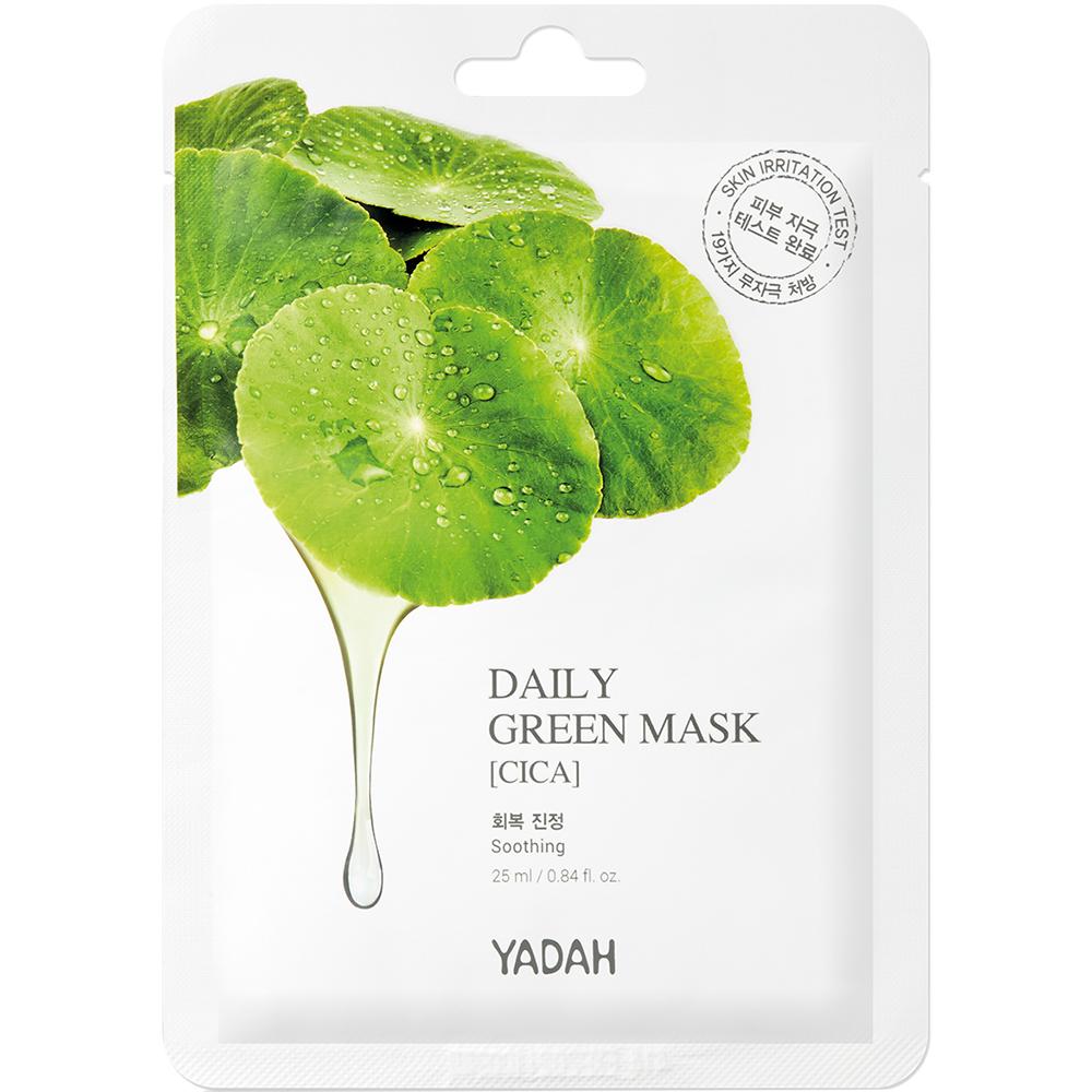 Daily Green Masca de fata Cica SET 10 buc 25 ml
