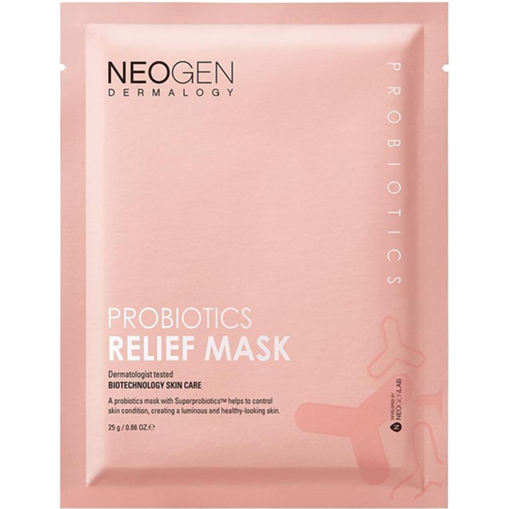 Dermalogy Probiotics Relief Mask Masca de fata 25 gr x 5 buc