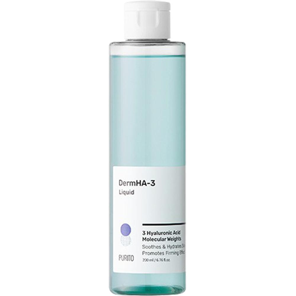 DermHA-3 Toner de fata Liquid cu acid hyaluronic 200 ml