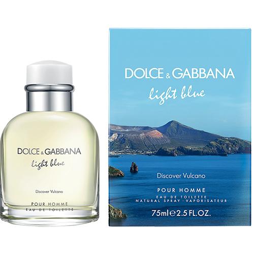 Light Blue Discover Vulcano Apa de toaleta Barbati 75 ml