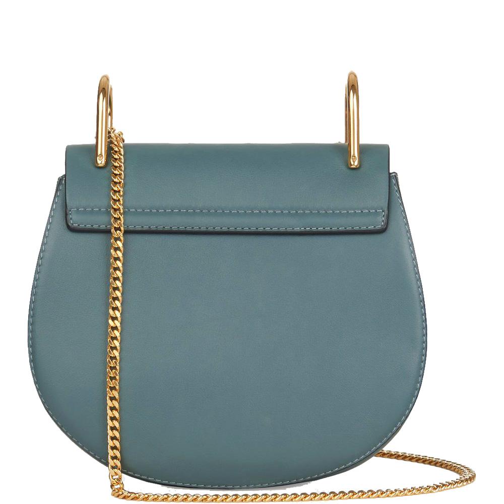 Drew Leather Shoulder Bag