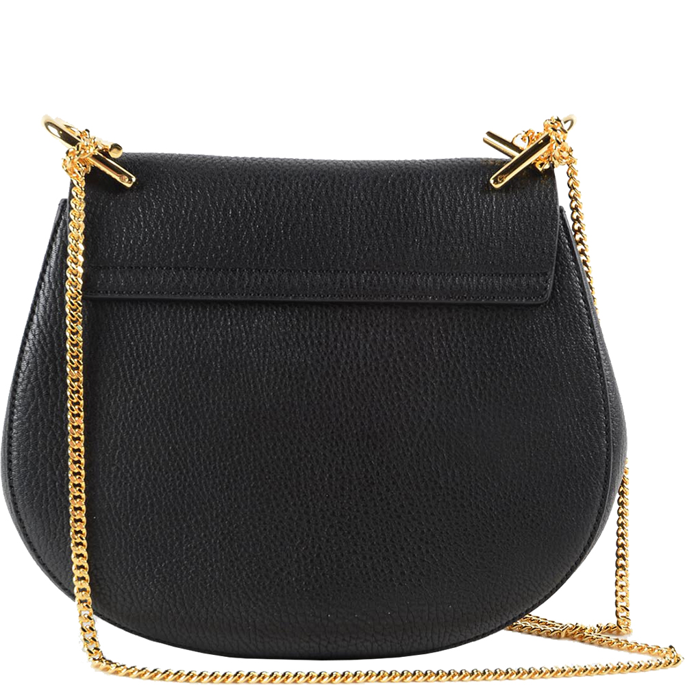 Drew Leather Shoulder Bag