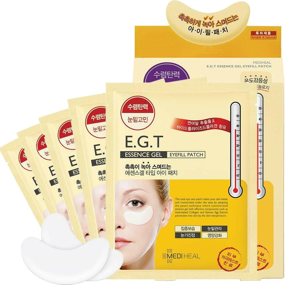 E.G.T Essence Gel Eyefill Benzi pentru ochi antirid Femei 5 buc x 2.7 gr
