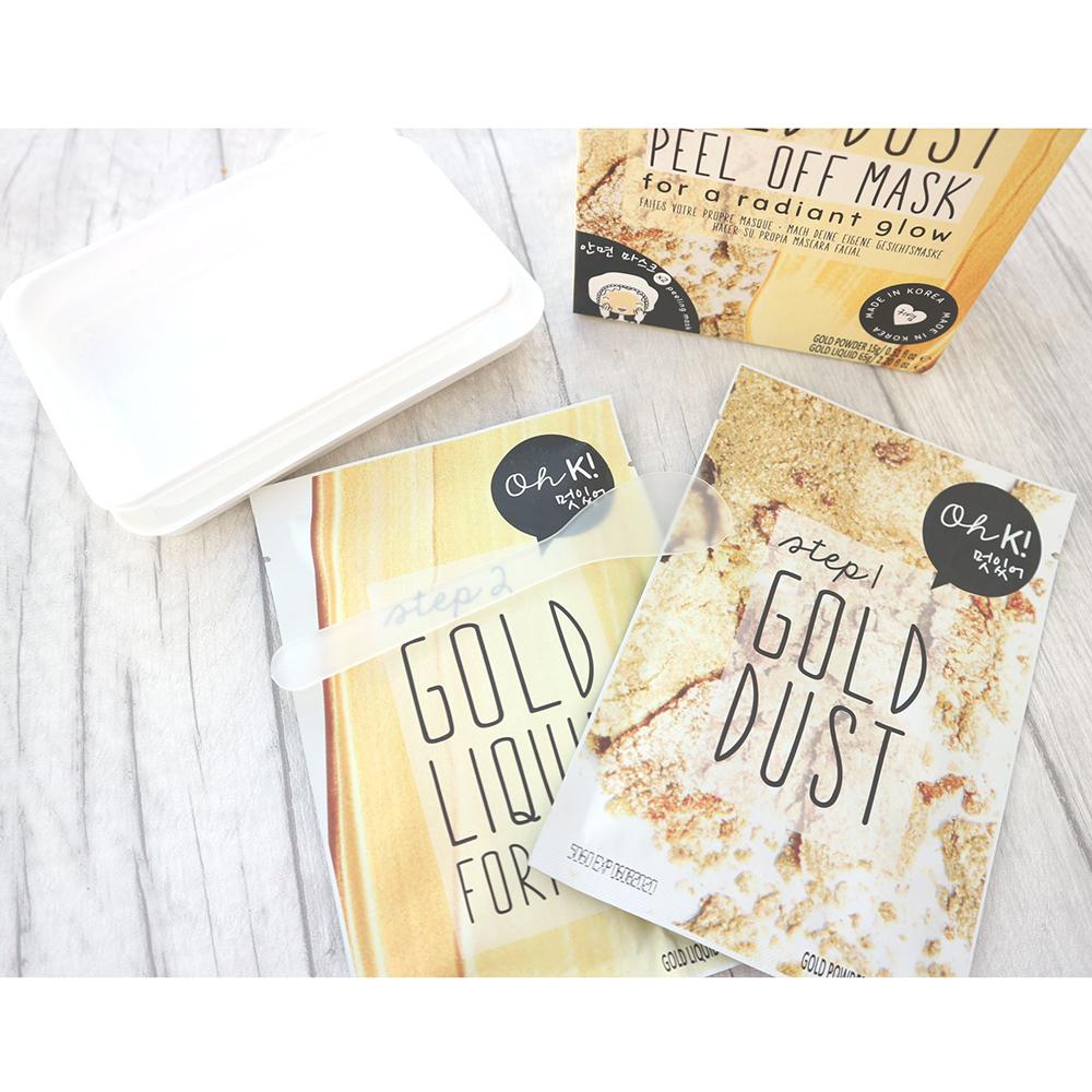 Gold Glow Masca de fata Set Femei