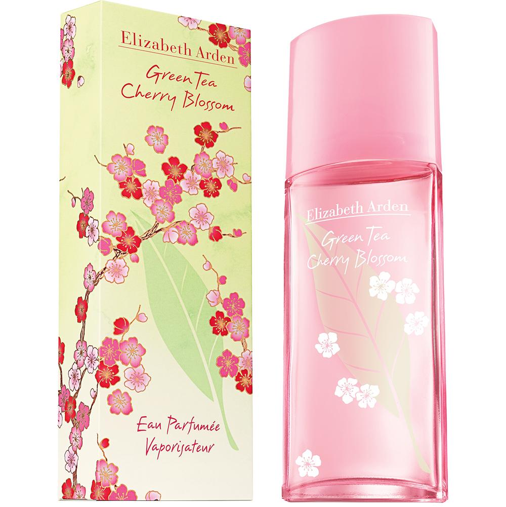 Green Tea Cherry Blossom Apa de toaleta Femei 100 ml