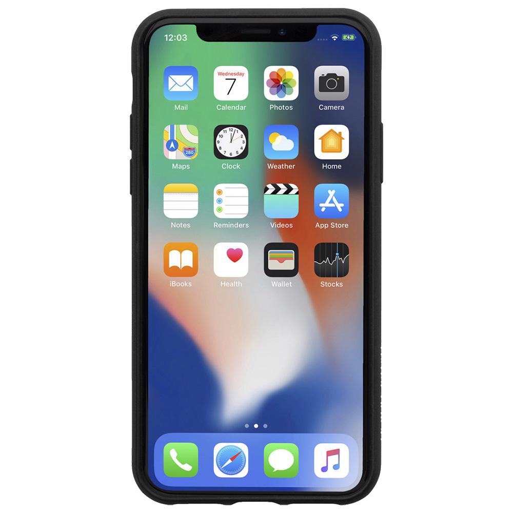 Husa Capac spate Clic Marquertry Negru Apple Iphone Xs Max