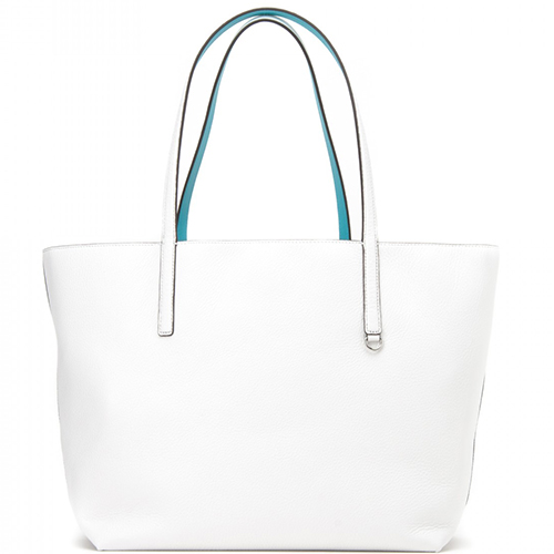 Izzy large reversible leather tote bag