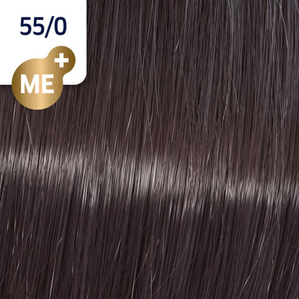 Koleston Perfect Me + Pure Naturals Vopsea de par permanenta 55/0 Light Brown Intensive