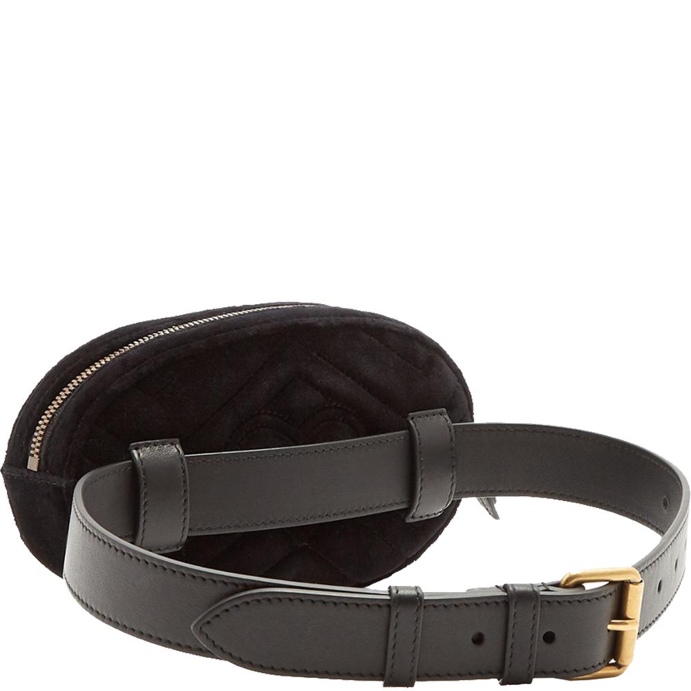 Marmont Matelasse Leather Belt Bag