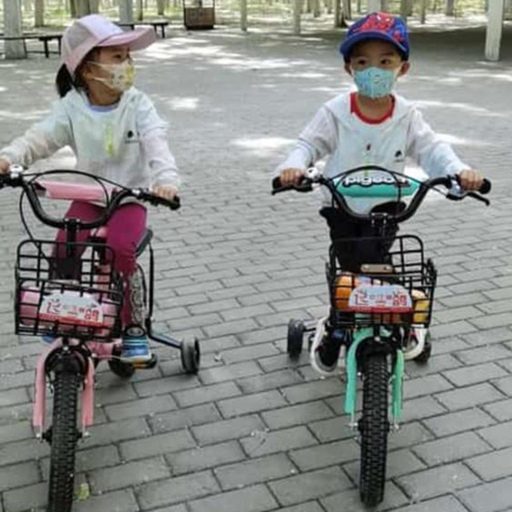 Masca faciala protectie FFP1 pentru copii, marimea M, cu 3 straturi de protectie, culoare albastru, set 5 bucati, steril