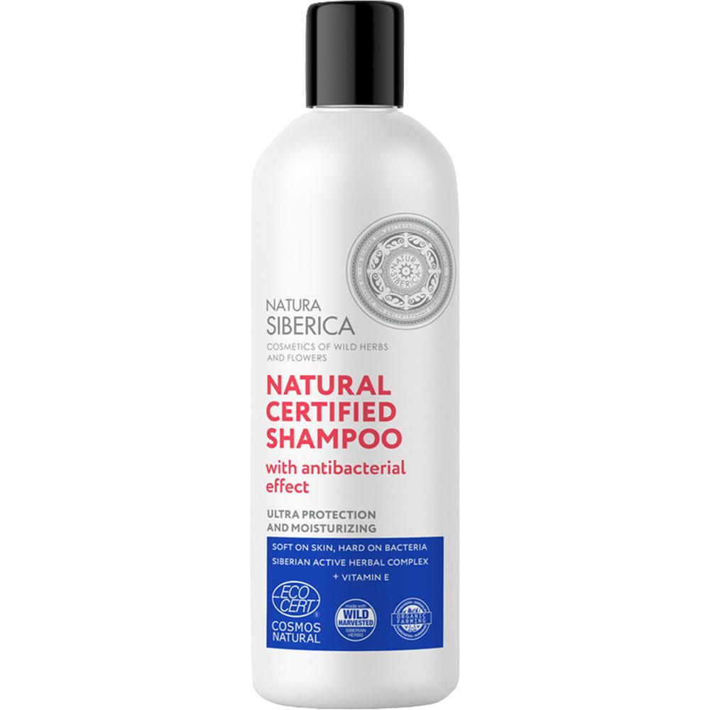Natural Certified Sampon cu efect antibacterian Femei 400 ml