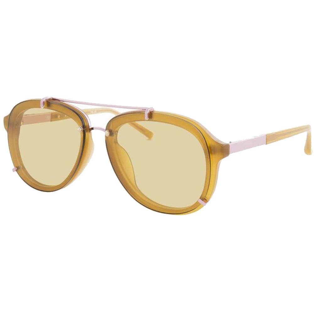 Ochelari de soare PL162C2SUN Honey/Rose Gold/Yellow Galben Barbati