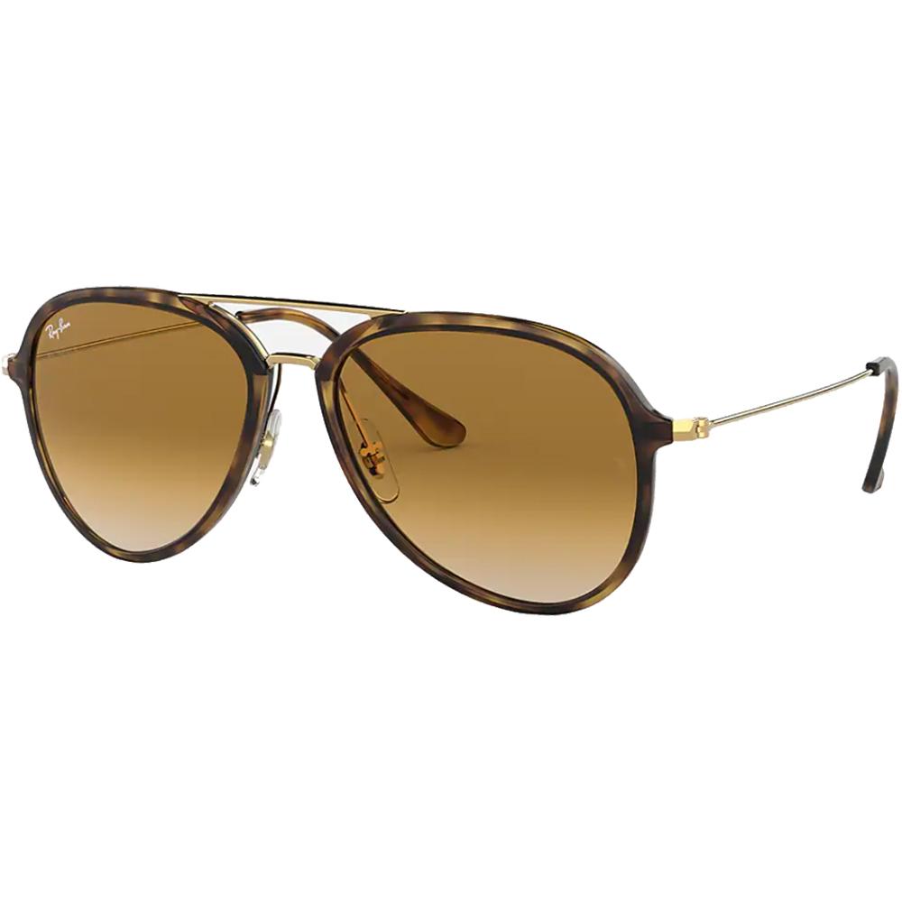 Ochelari de soare RB4298 Tortoise-Gold/Light Brown Gradient Negru Unisex