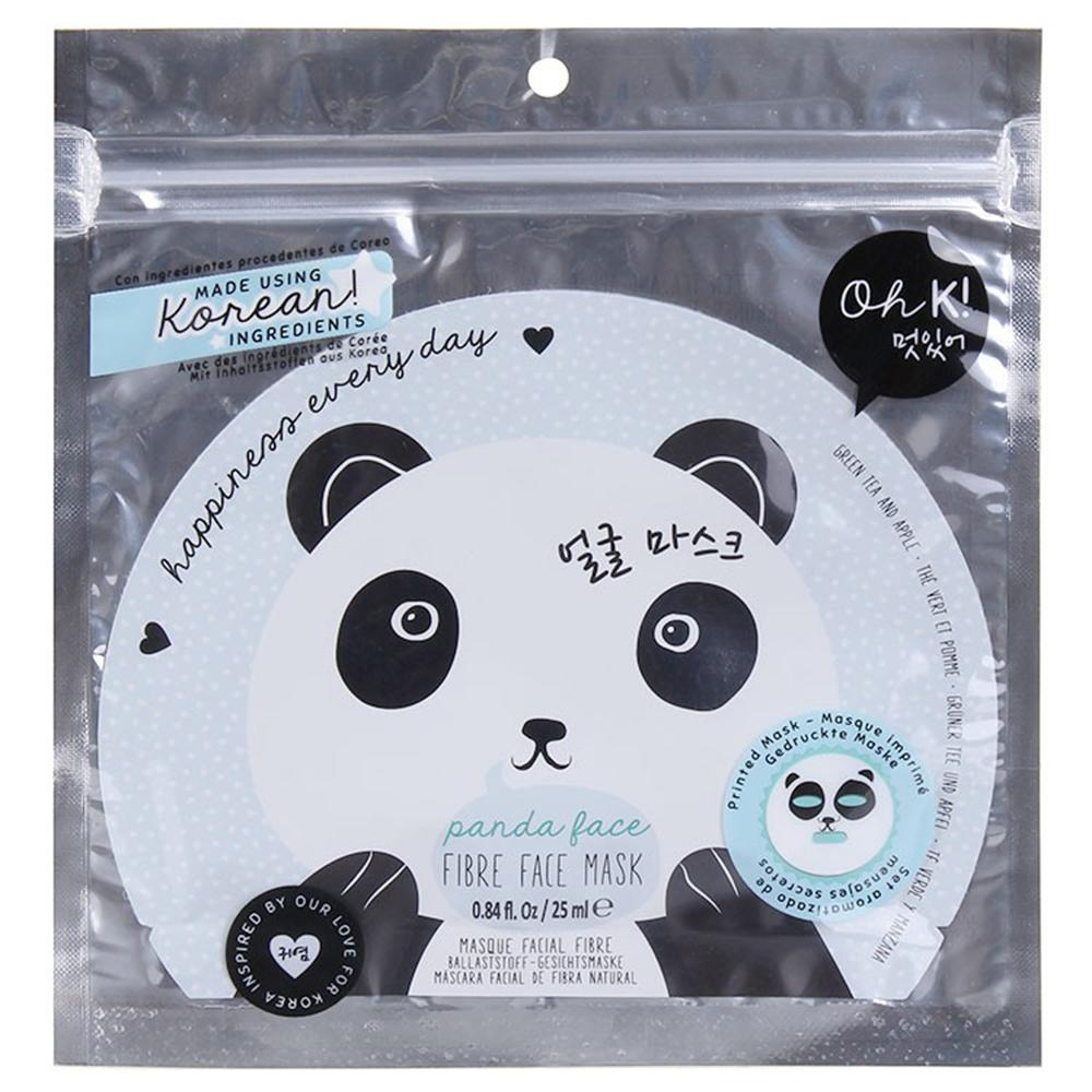 Panda Fibre Masca de fata cu ceai verde si mar Unisex