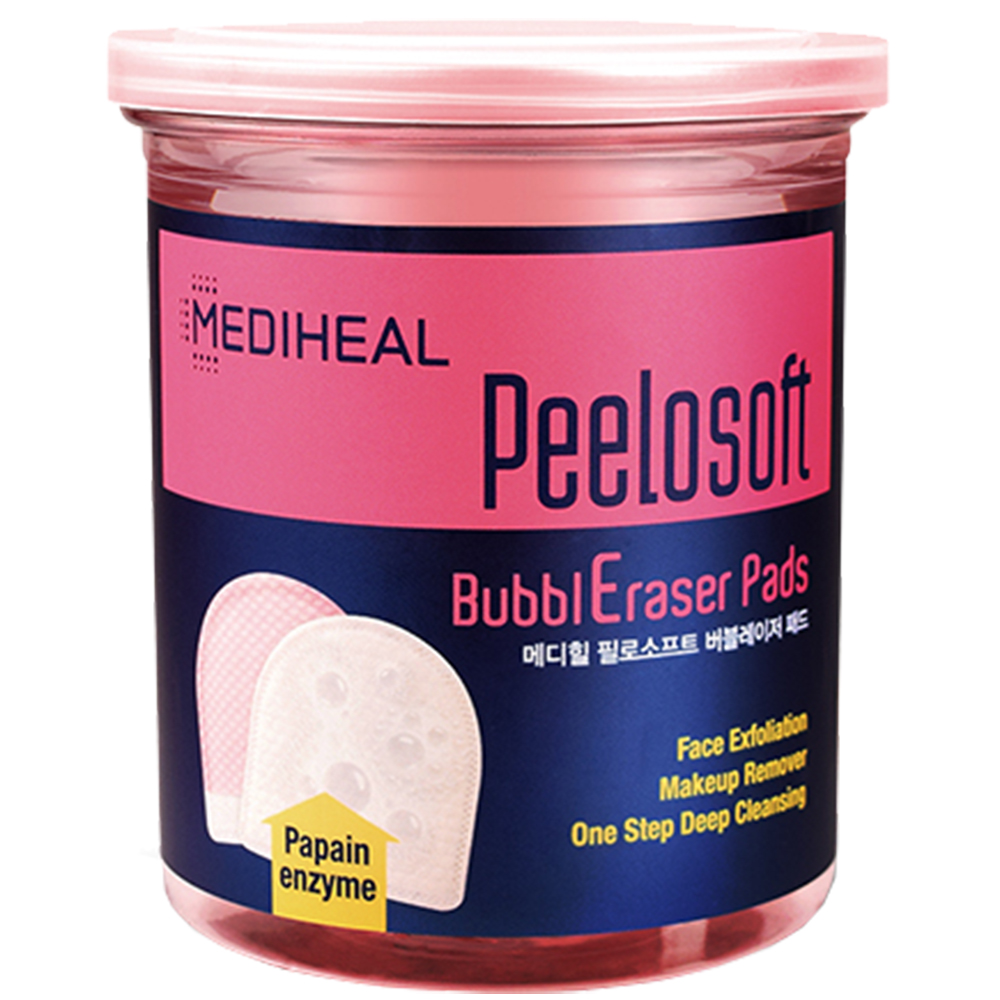 Peelosoft Bubbleraser Pads Dischete demachiante textile 20 buc