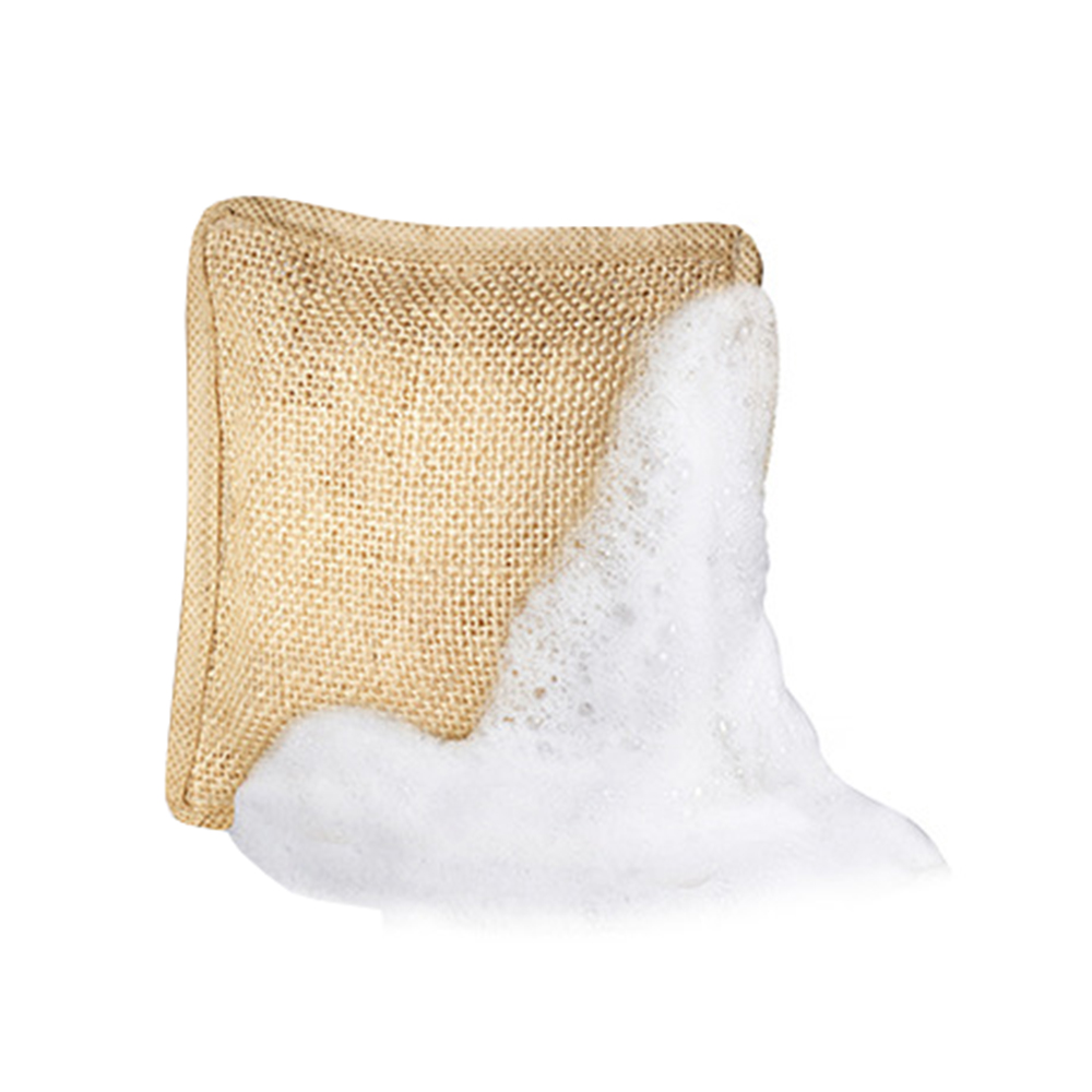 The Pure Powder Sapun exfoliant in saculet din fibre naturale Unisex