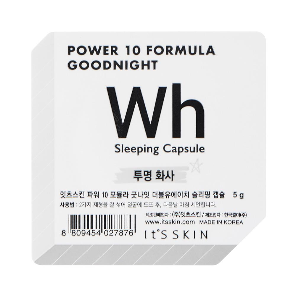 Power 10 Formula Goodnight Sleeping Ser de fata WH tonifiant 5 gr