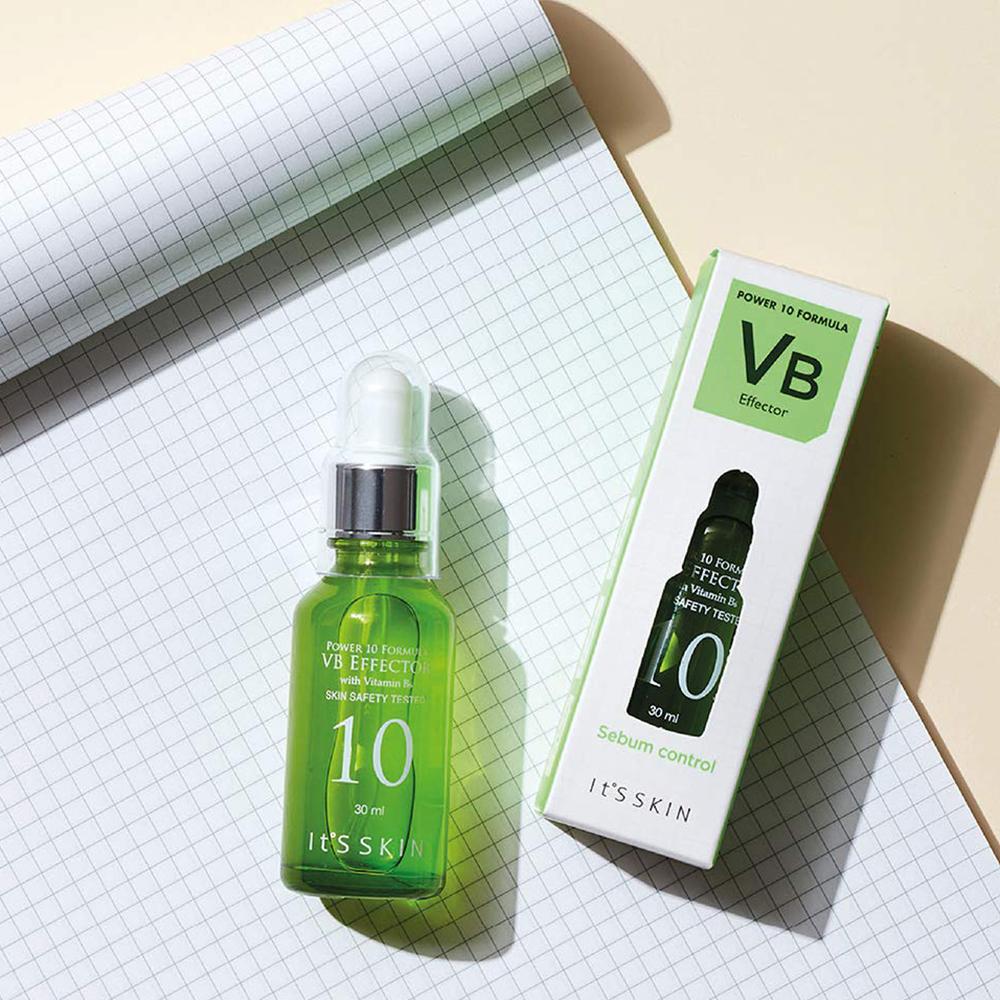 Power 10 Formula Ser de fata VB effector Sebum Control pentru ten gras si acneic Box 30 ml