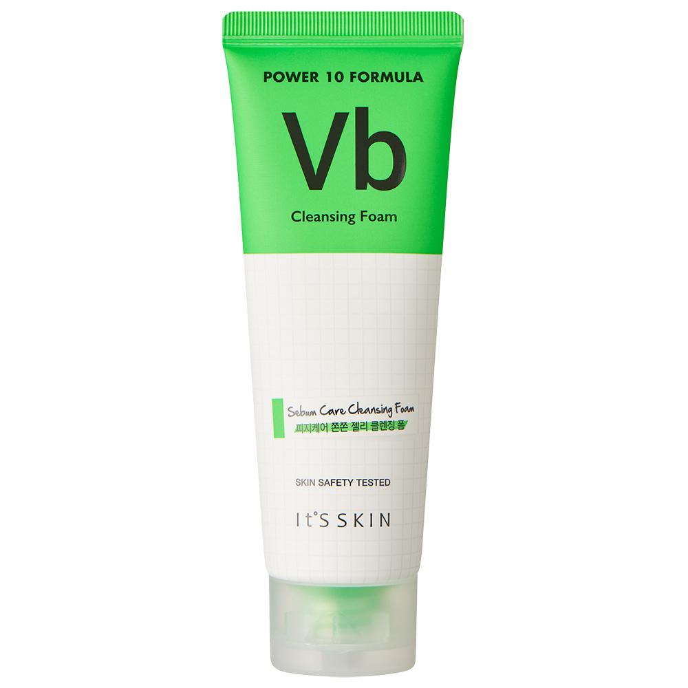 Power 10 Formula Spuma de curatare VB Sebum Control pentru ten gras si acneic 120 ml